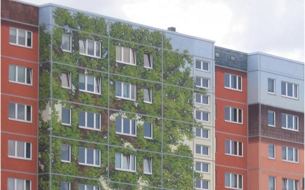 Il murale sulla Alt-Friedrichsfelder - copyright Solidarität Foto Design