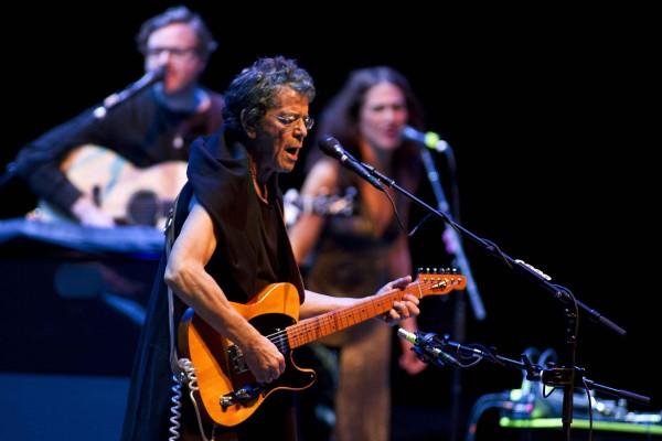 Lou Reed in concerto alla Heineken Music Hall di Amsterdam nel giugno 2012. Photo credits: PAUL BERGEN/AFP/GettyImages