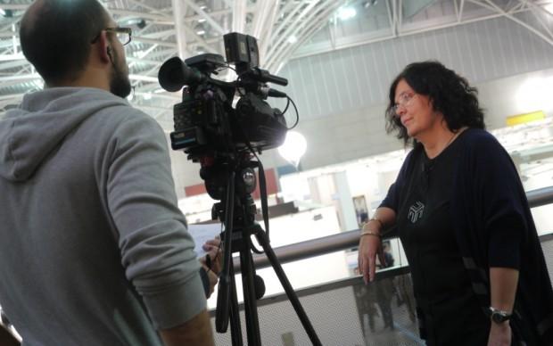 La troupe di Sky Arte HD intervista Beatrice Merz