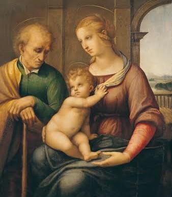 Raffaello Sanzio, Sacra Famiglia