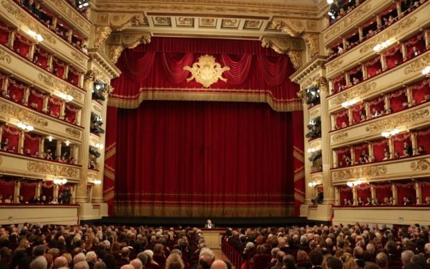 Il colpo d'occhio della Scala - foto Brescia/Amisano © Teatro alla Scala
