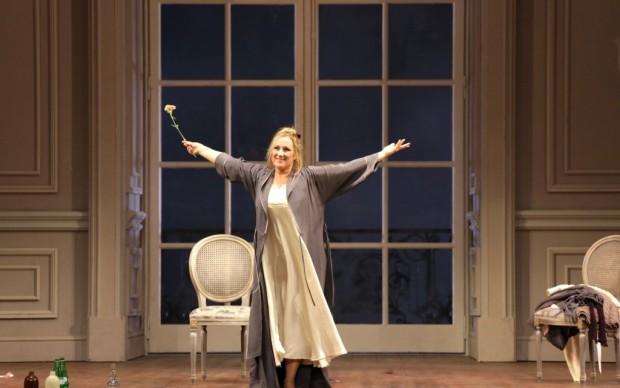 Applausi per Diana Damrau - foto Brescia/Amisano © Teatro alla Scala