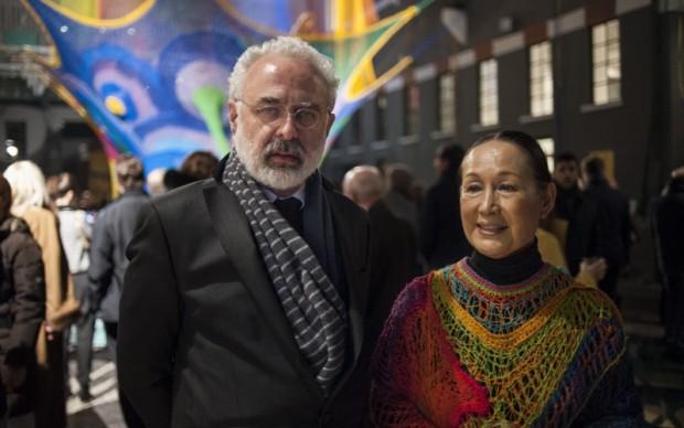 Francesco Bonami e Toshiko Horiuchi MacAdam al MACRO