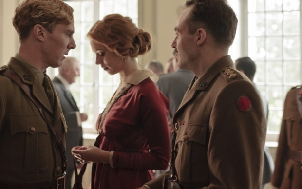 Benedict Cumberbatch e Rebecca Hall - foto Nick Briggs © Mammoth Screen Limited 2012