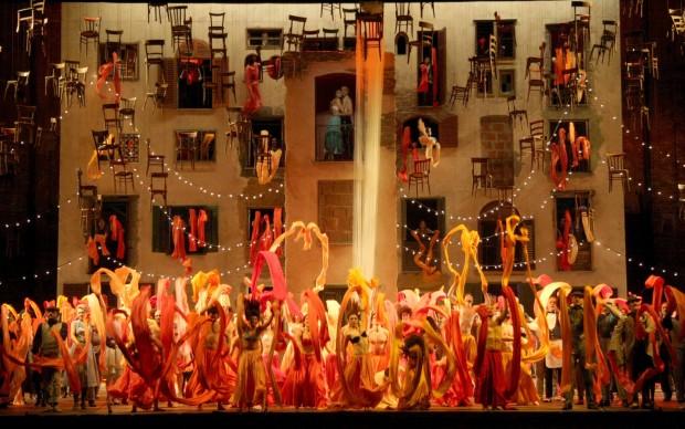 """Il """"Feuersnot"""" di Richard Strauss al Massimo di Palermo © Franco Lannino / Studio Camera"""