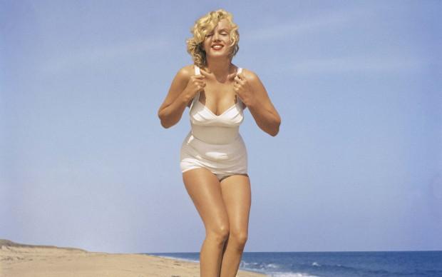 Marilyn Monroe nel 1957