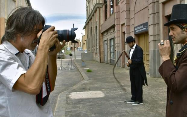 """Il set  di Fabio Lovino per """"Fotografi"""""""