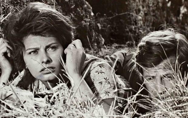 """Sofia Loren ne """"La Ciociara"""", film per cui vinse il Premio Oscar"""