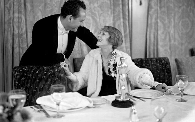 Helen Hayes nel 1932, alla cena di gala della Notte degli Oscar