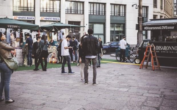 Piazza Affari, il party