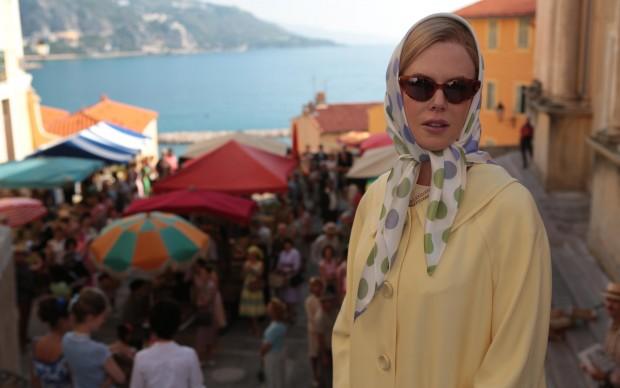 """Nicole Kidman sul set di """"Grace di Monaco"""""""