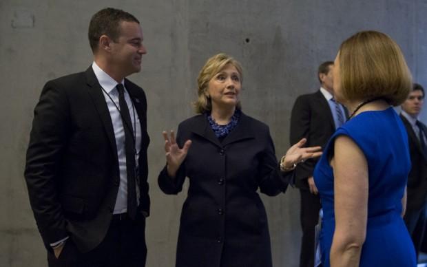 Hillary Clinton all'inaugurazione del museo © Jin Lee
