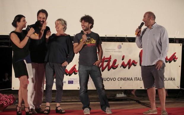 Geppi Cucciari con Piera Detassis, Sydney Sibilia, Marco Navone e Neri Marcoré