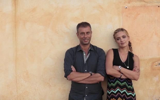 Ivan Cotroneo e Carolina Crescentini