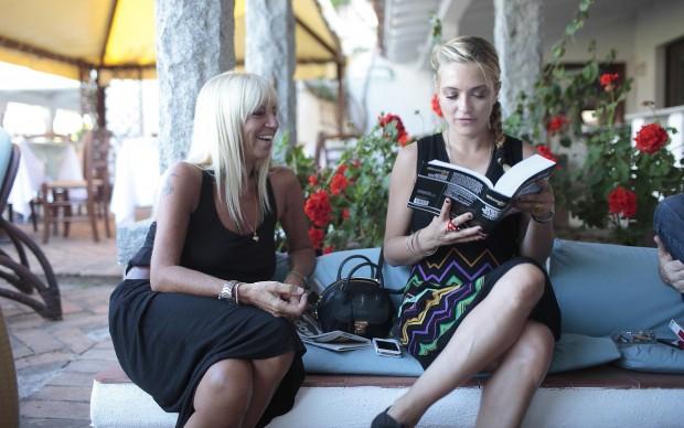 Luisa Morandini e Carolina Crescentini