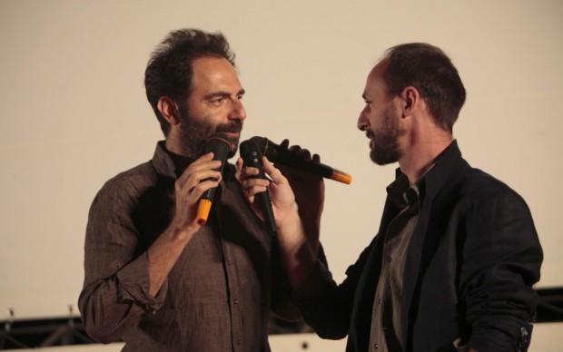 Alessandro Rak con Neri Marcoré