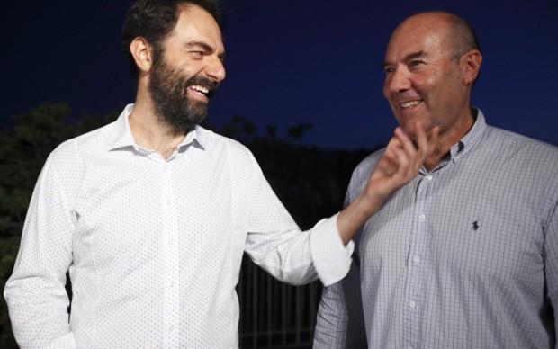 Neri Marcoré e Marco Navone
