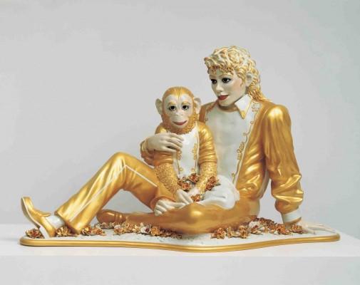 Jeff Koons, Michael Jackson and Bubbles