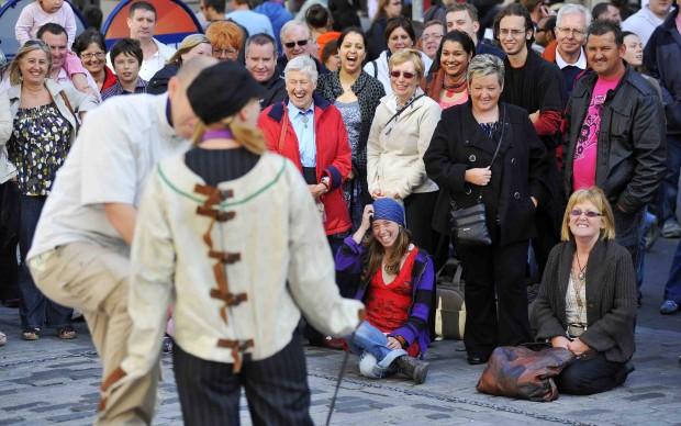 Uno show al Fringe Festival © Edinburgh Festival Fringe Society