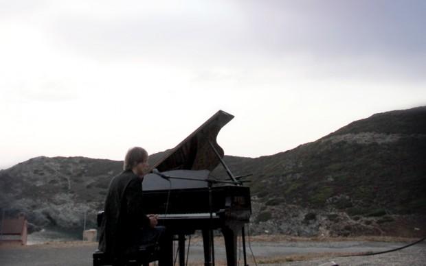 Arturo Staltieri in concerto all'Argentiera - foto Gianfranco Manai