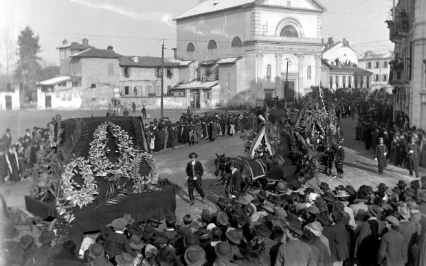 Funerali di Verdi - 1901 - Archivio Casa Verdi