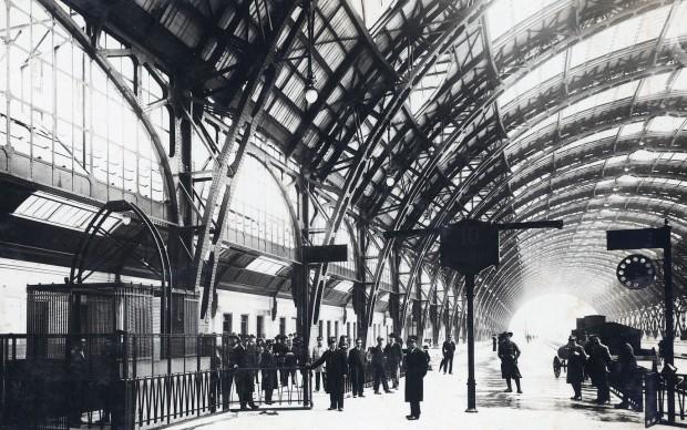 Galleria Stazione di Milano Centrale  1935 - Fondazione Ferrovie dello stato