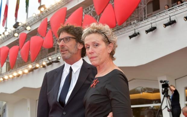 Joel Coen e Frances McDormand  © La Biennale di Venezia