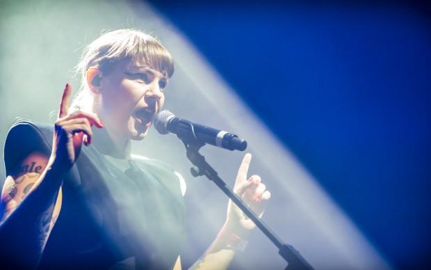 Miss Kittin al Berlin Festival - foto Stephan Flad