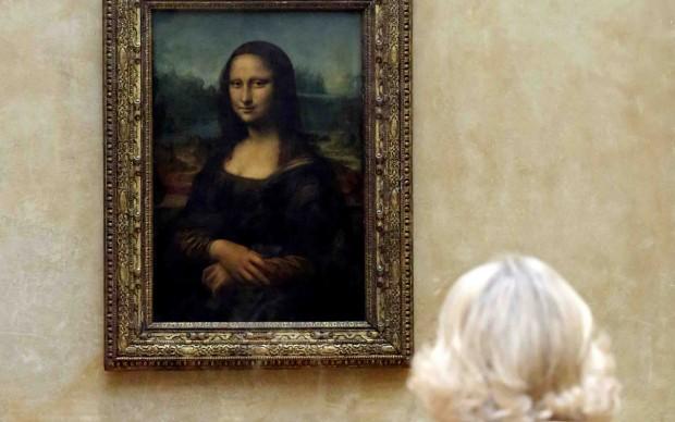 Leonardo da Vinci, Monna Lisa o La Gioconda, Museo del Louvre