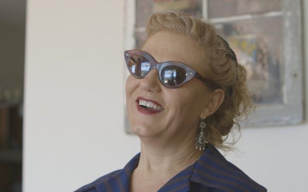 Patrizia Sardo, moglie di Antonio Marras
