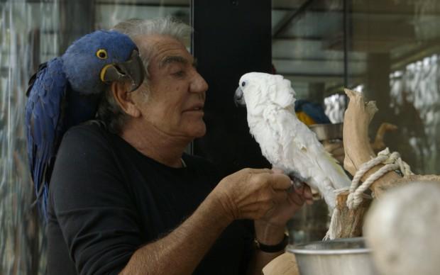 Roberto Cavalli e i suoi animali di compagnia