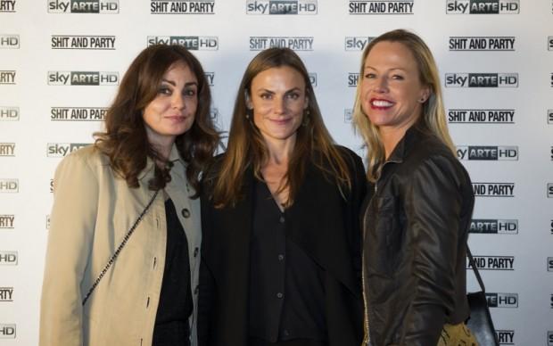 Emma Winter Agnelli (al centro)