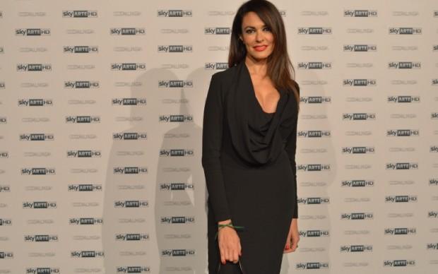 Maria Grazia Cucinotta ospite di Sky Arte