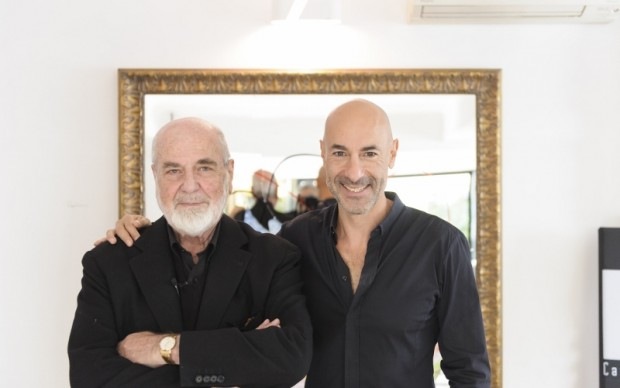 Michelangelo Pistoletto e Alessio Bertallot