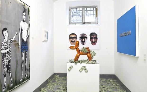 Mr. Savethewall vs. Jeff Koons