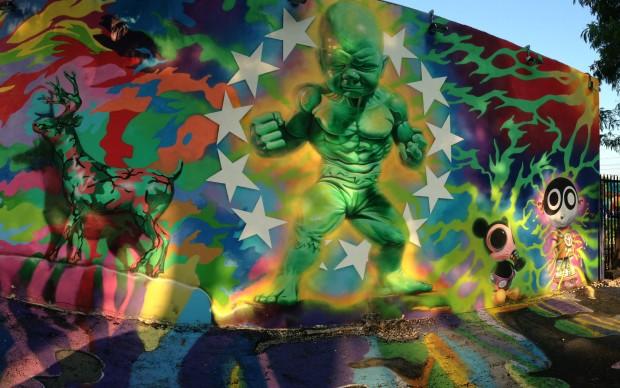 Street art a Wynwood