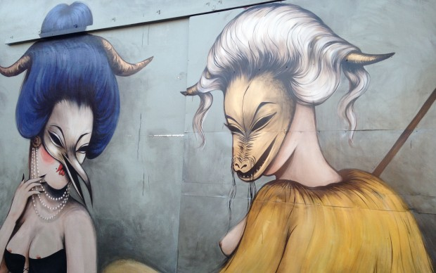 Uno dei murales di Wynwood