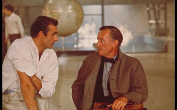 Sean Connery e Ian Fleming ©1962 Danjaq, LLC and United Artists Corporation