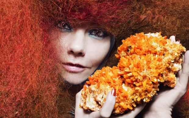Björk in Biophilia