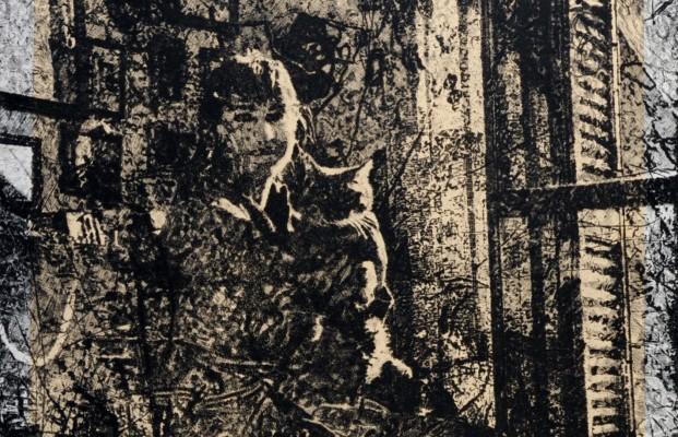 P. Ciampini, The girl and the cat, 2009, Collezione privata