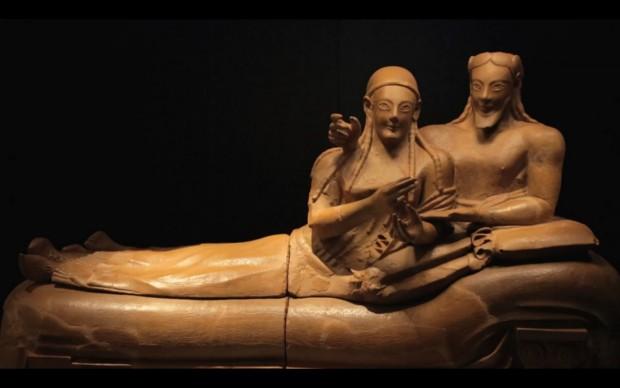 Etruschi, Sarcofago degli sposi
