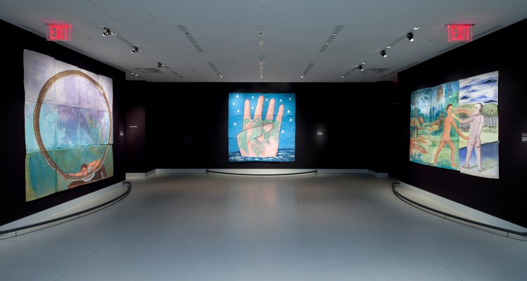 Francesco Clemente, Four Corners e altre opere in mostra al Rubin Museum of Art di New York