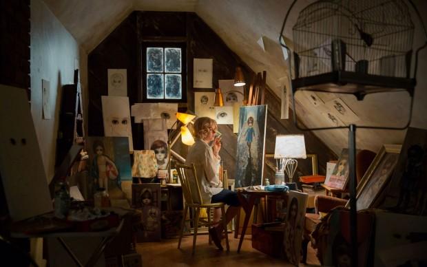 Una scena da Big Eyes, film del 2014 diretto da Tim Burton