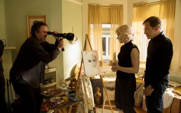 Dietro le quinte di Big Eyes con il regista Tim Burton