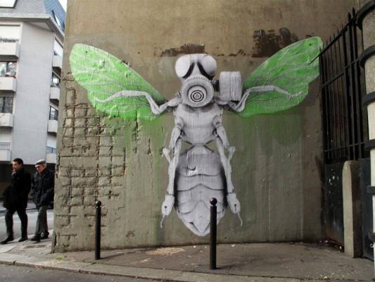 Ludo, street art