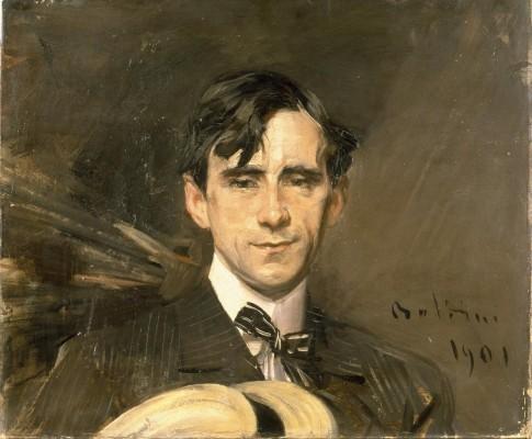 Giovanni Boldini, Il caricaturista Sam, 1901. Olio su tela, collezione privata