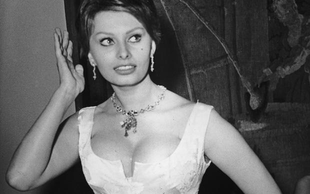 Sophia Loren al Festival di Berlino del 1959