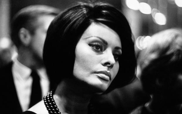 Sophia Loren nel 1964