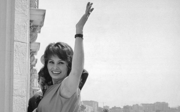 Sophia Loren a Cannes, 1959