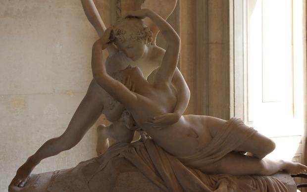 Antonio Canova, Amore e Psiche, 1788-93, scultura in marmo